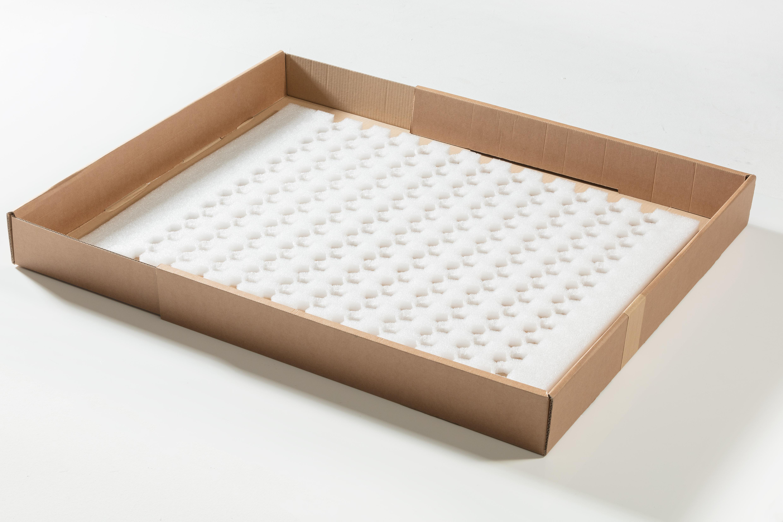 Maat verpakking – variabel PE schuim maat verpakking
