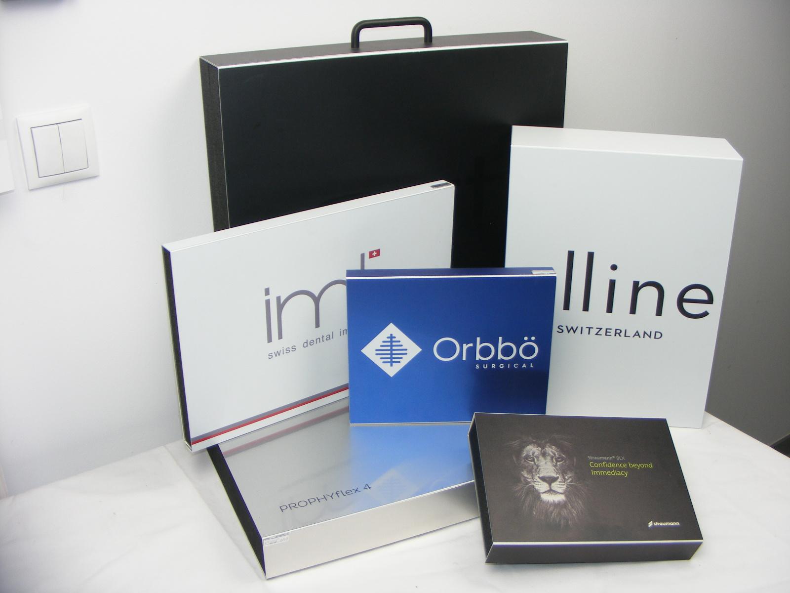 Handzame presentatie cases en etuis